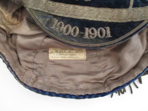 EDINBURGH ACADEMICALS 1900-1902 label (ER)
