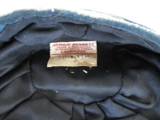 LEYS SCHOOL CAP 1923-24 label (ER)