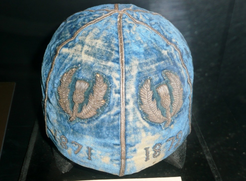 First Scotland International cap. World Rugby Museum - Twickenham