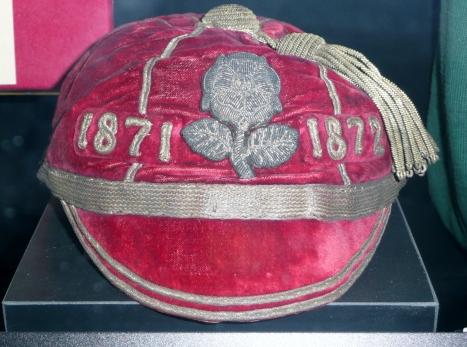 ENGLAND CAP 1871 (RFU)