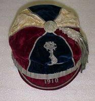 Metropolitan Rugby Cap 1910