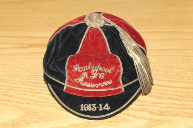 Pontypool Reserves - W L Jackson - 1913-14 (PM)