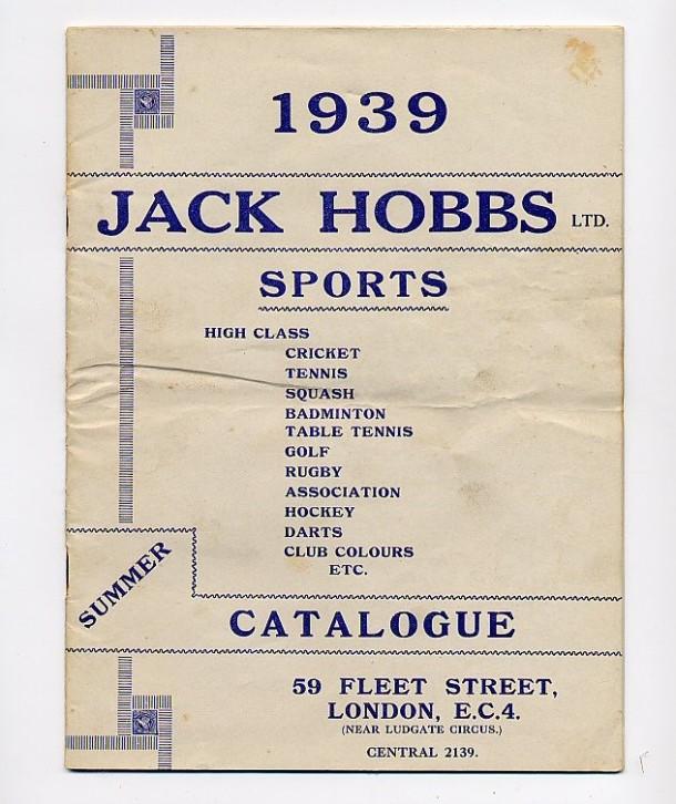 J Hobbs Catalogue