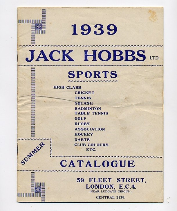 J Hobbs Catalogue