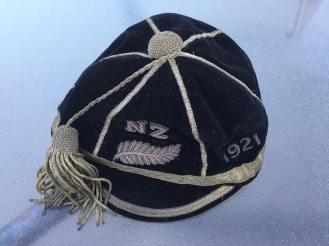 1921 Al Blacks Cap Karl Ifwerson (CW) Springboks tour