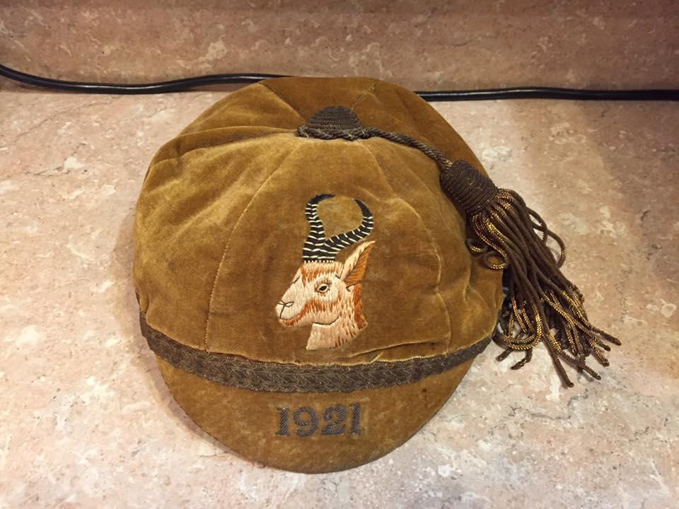 1921 Springboks Cap (CW)