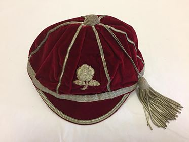 England Cap 1954-55 - Sir Peter Yarranton (AM)