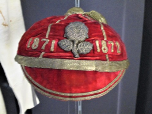 1871 England Cap awarded to Arthur Guillermard