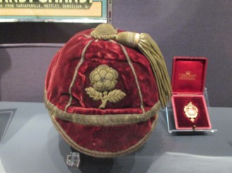 1895 England Cap awarded to Jack Rhodes