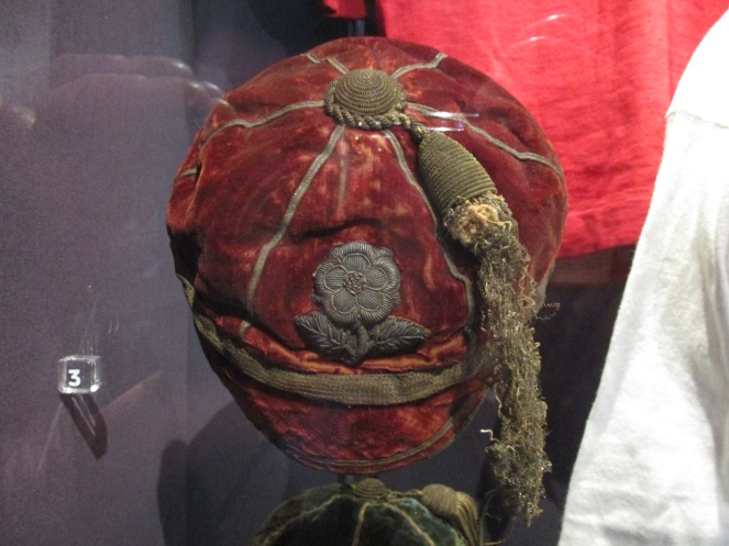 1880 England Cap Belonging to Dr Richard Finch