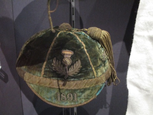 1891 Scotland Cap awarded to Paul Clauss