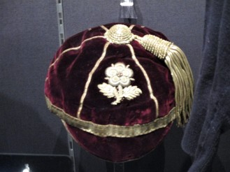 1905 England Cap awarded to Adrian Stoop