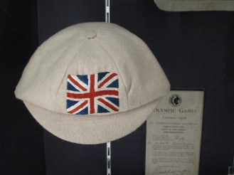 1908 Olympic Cap awarded to Dick Jackett