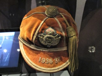 1936 Royal Military College Sandhurst Cap awarded to Lt Col Stewart Howard-Jones