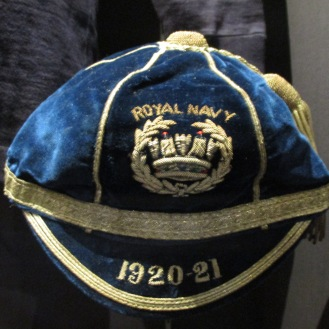 1920 Royal Naval Cap awarded to William Luddington