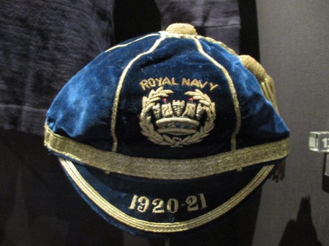 1920 Royal Naval Cap awarded to William Luddington