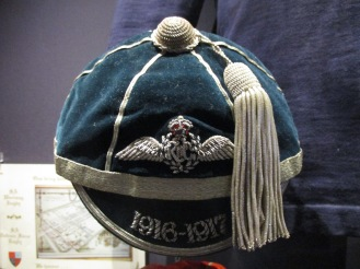 1916 Royal Flying Corps Cap awarded to 2nd Lt George Bruce Wlaker