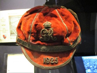 1925 British Army Cap awarded to Lt RBG Anderson