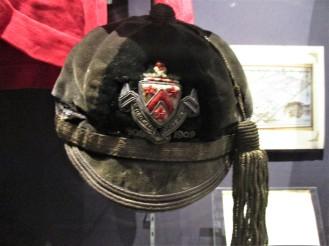1908 Dulwich College Cap worn by Cyril Lowe