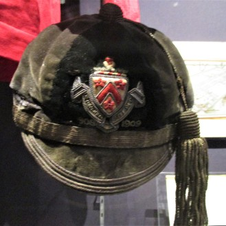1908 Dulwich College Cap worn by Cyril Lowe