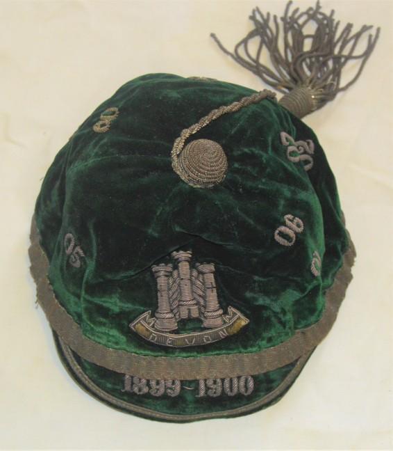 DevonCounty Cap 1899-1906 - E J Vivyan