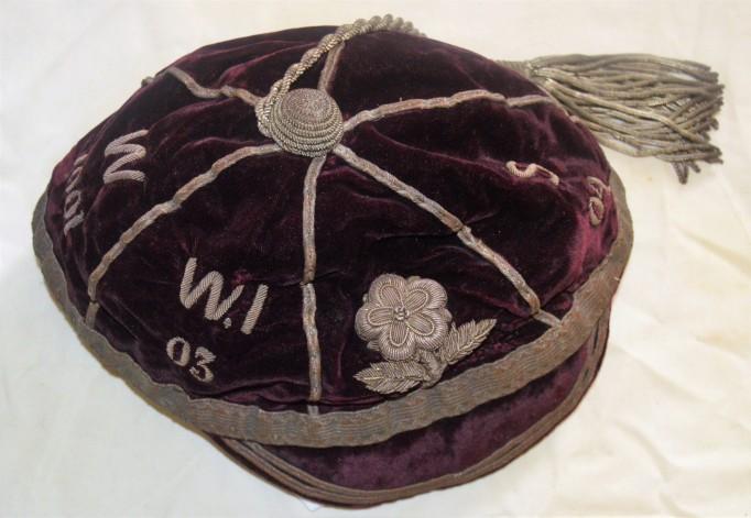 England Rugby 1901, 03-04 - E J Vivian