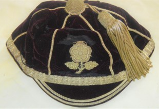 England Rugby - J A King 1911