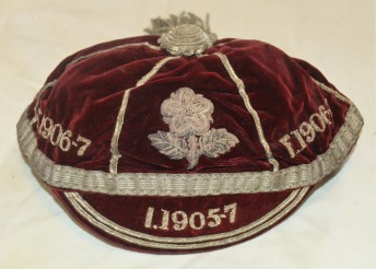 England Rugby - J Green 1905-1906