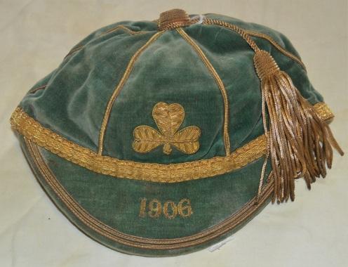 Ireland Rugby Cap 1906 - R P C Gotto (v SA)