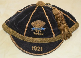 Welsh Rugby Union Trial Cap 1921 - Johnny Ring