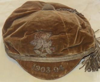 Yorkshire Cap 1903-1904 - J S Auty
