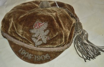 Yorkshire Cap 1905-06 - A S Pickering