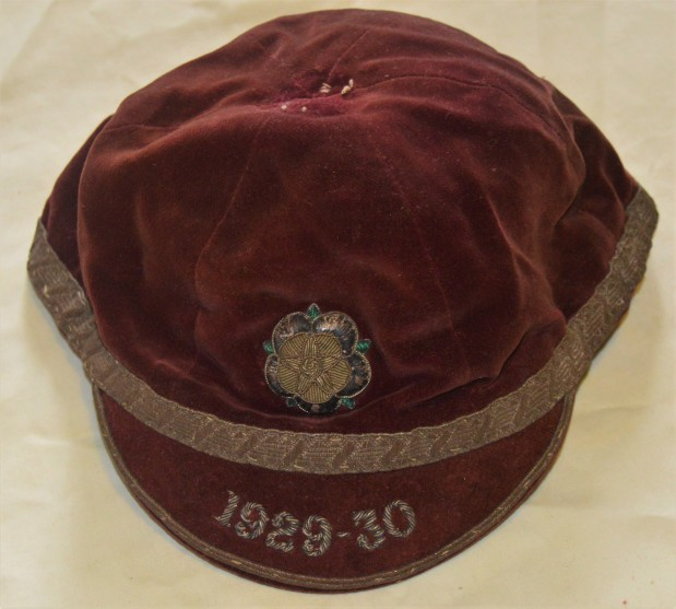 Yorkshire Rugby Cap 1929-1930 - J R Auty