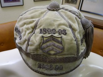 1883-1893 Cardiff 1st XV Rugby Cap(CRM117)