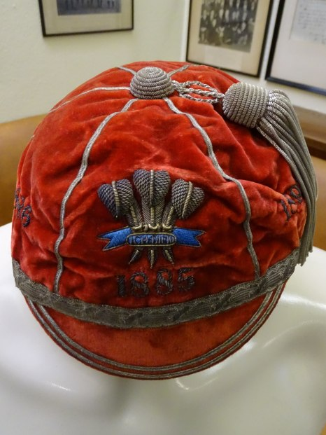 1885-1895 Wales Rugby Cap (CRM440)