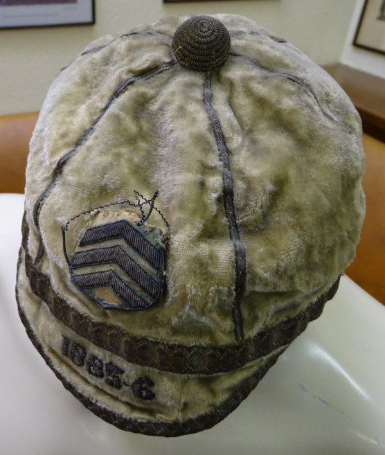 1885-86 Cardiff Rugby Cap - Side(CRM235)