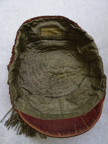 1886 Wales Rugby Cap - Inside (CRM158)