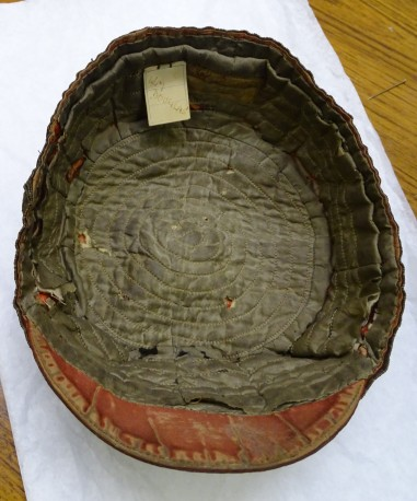 1886 Wales Rugby Cap - Inside(CRM240)