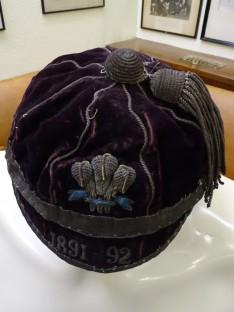 1891-92 Wales Trial Rugby Cap (CRM54)