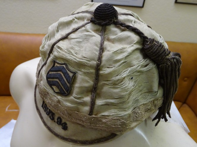 1893-1894 Cardiff Rugby Cap- Side(CRM790)