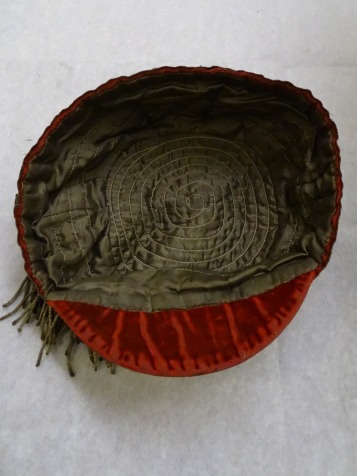 1894 Wales Rugby Cap - Inside (CRM32)
