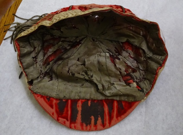 1895 Wales Rugby Cap - Inside(CRM337)
