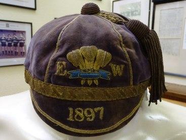 1897 Wales Rugby Trial Cap(CRM33)