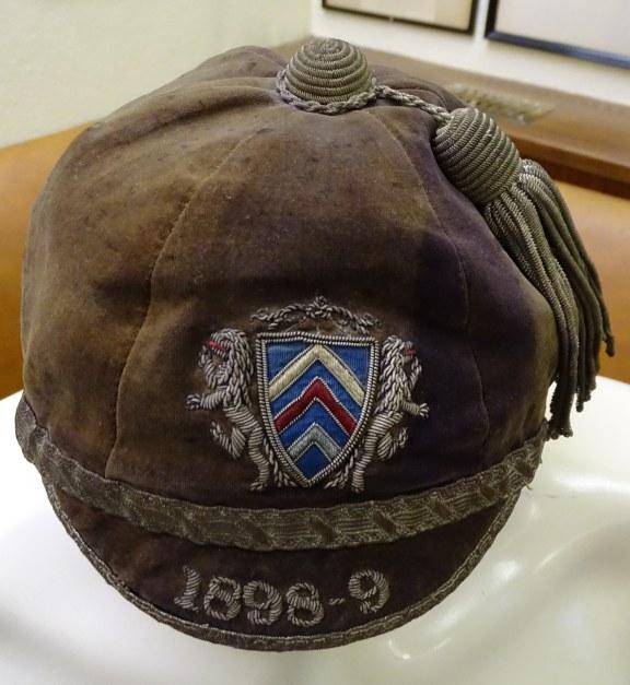 1898-99 Gamorgan county Cap (CRM224)
