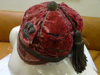 1898 Wales Rugby Cap - Side (CRM36)