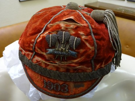 1903 Wales Rugby Cap (CRM107)