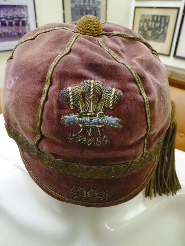 1905 Wales final Trial Cap (CRM247)
