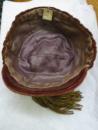 1905 Wales final Trial Cap - Inside (CRM247)