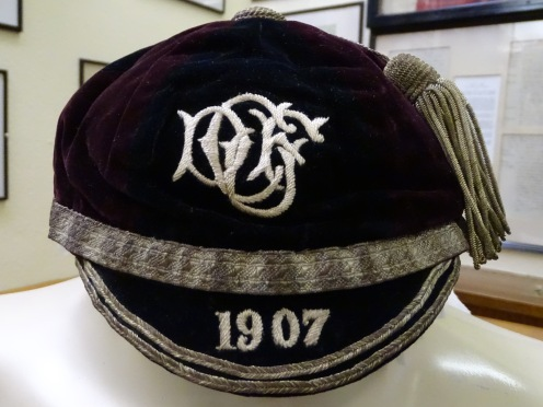 1907 Cardiff and District Rugby Cap (CRM186)