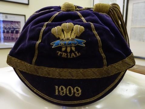 1909 Wales Trial Cap (CRM236)